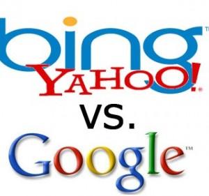 google vs bing yahoo