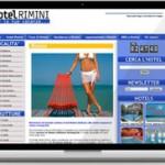 Posizionamento su google riuscito in prima pagina per il portale hotel rimini name